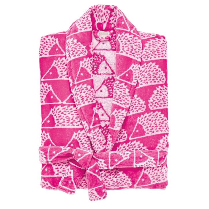 Spike Bath Robe XSML/ SML , Pink