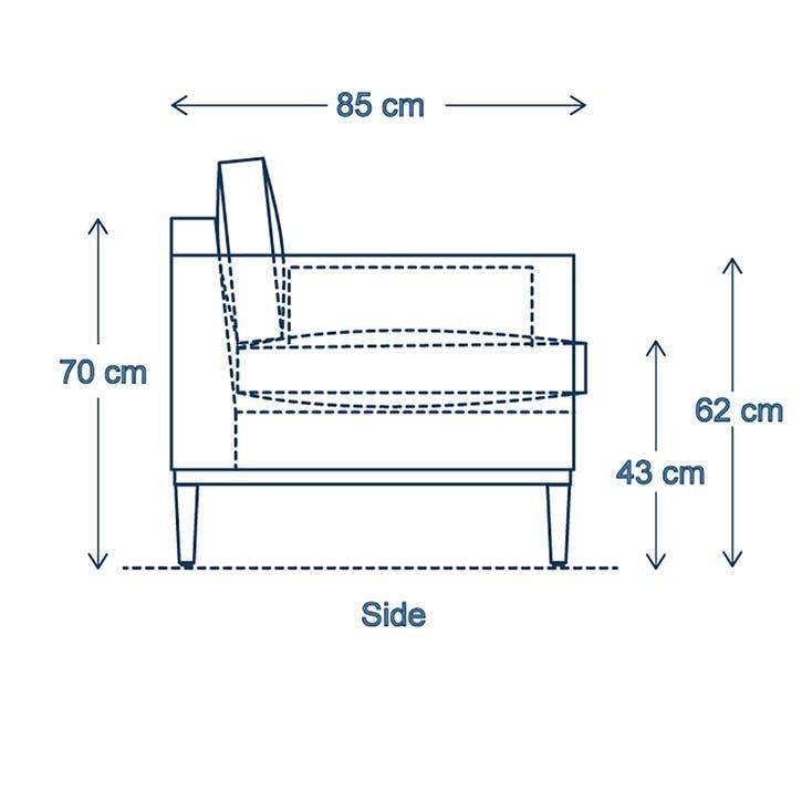 2 Seater Sofa, Model 02, Vine