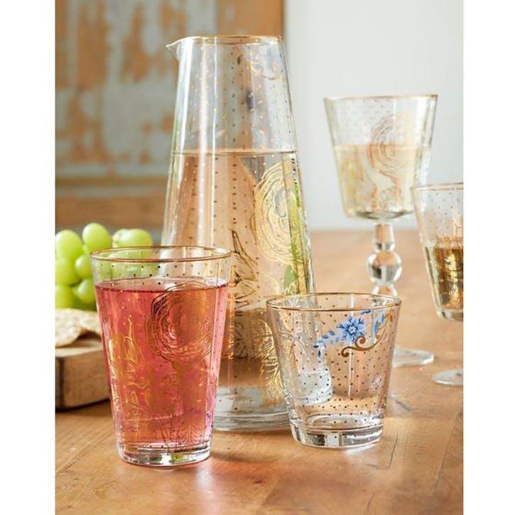PiP Royal Golden Flower Longdrink Glass