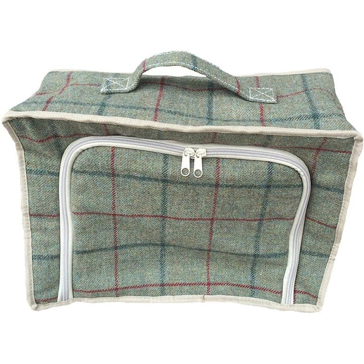 Tweed Cooler Bag, Green