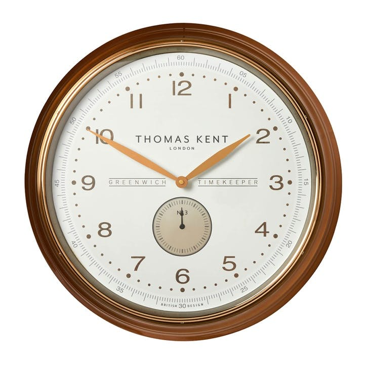 Greenwich Timekeeper No3 Clock, 51cm