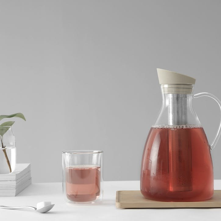 Infusion Iced Tea Carafe, Buttermilk
