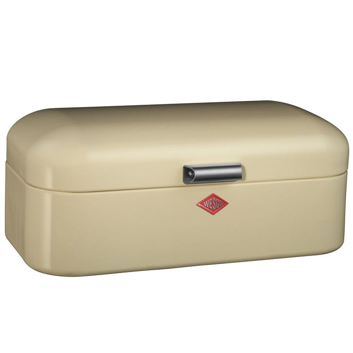 Grandy Bread Bin, Almond
