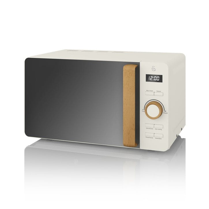 Nordic Digital Microwave, Cotton White