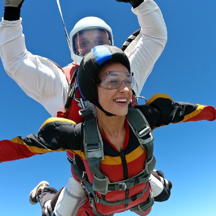 Tandem Skydive for Two