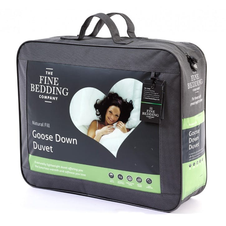 Goose Down Double Duvet, 10.5tog