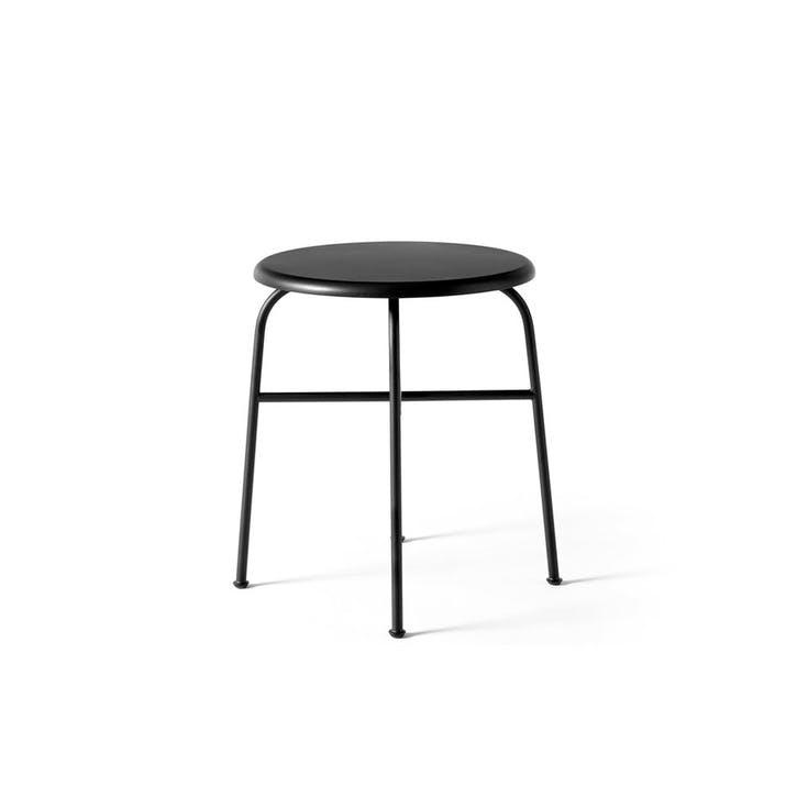Afteroom, Dining Stool, H47 x W45 x D45cm, Black