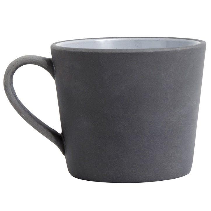 Grey Stoneware Mug