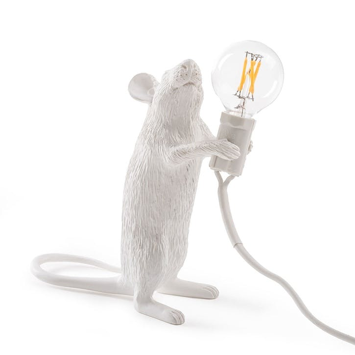 Mouse Lamp, Standing White