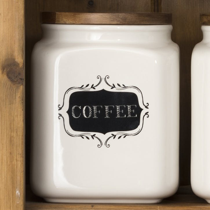 Stir It Up Ceramic Coffee Jar