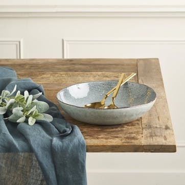 Jewel Stripe Serving Bowl, Large