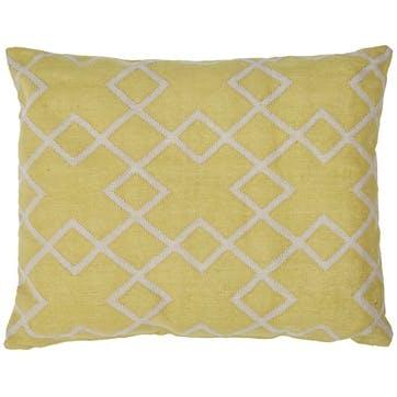 Juno Floor Cushion, Gooseberry