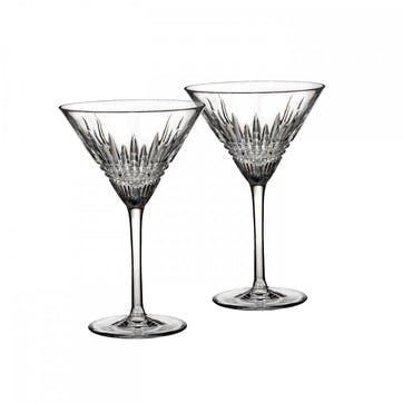Lismore Diamond Martini Glass, Set of 2
