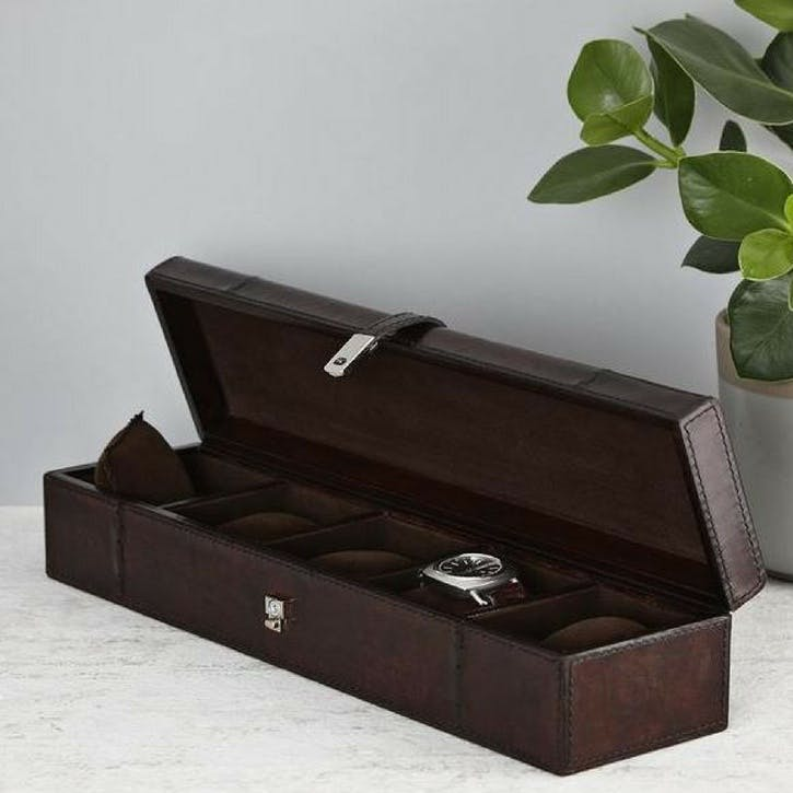 Five Watches Storage Box