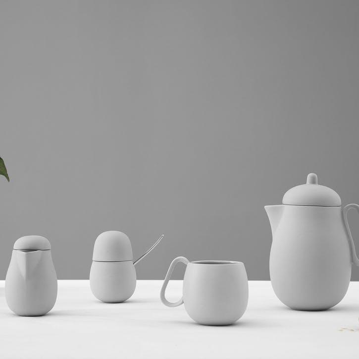 Nina Tea Set, White