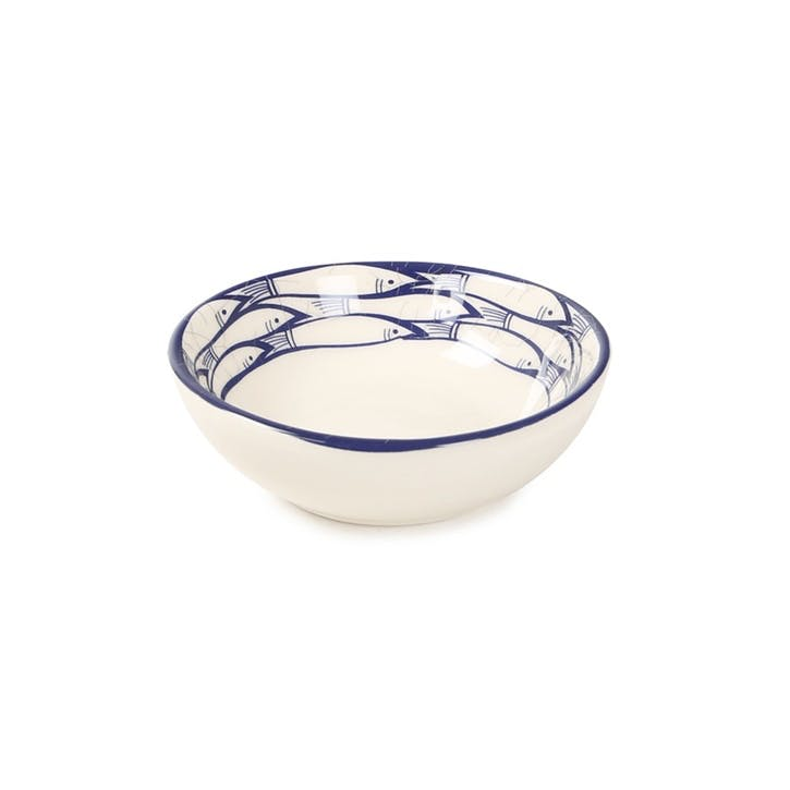 Sardine Run Dipping Bowl, 7cm, Blue