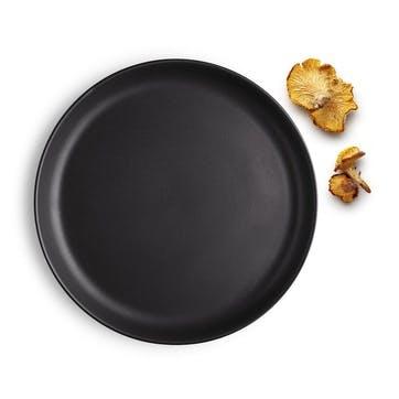 Nordic Kitchen Plate - 21cm; Black