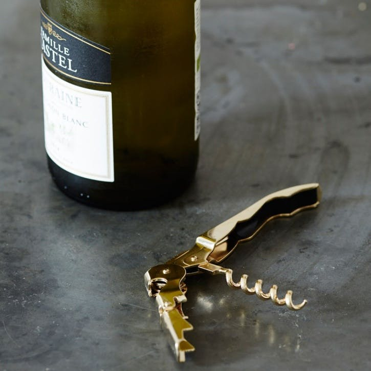 Gold Plated Signature Corkscrew