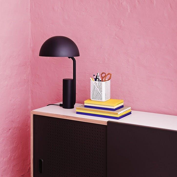 Cap Table Lamp D28 x H50cm Midnight Blue