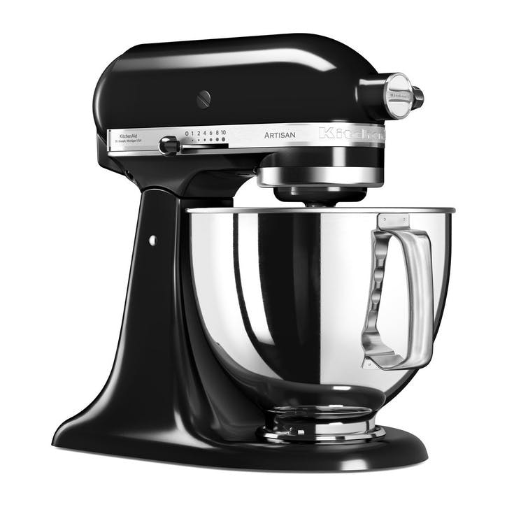 Artisan Stand Mixer with FREE Glass Mixing Bowl, 4.8L, Onyx Black