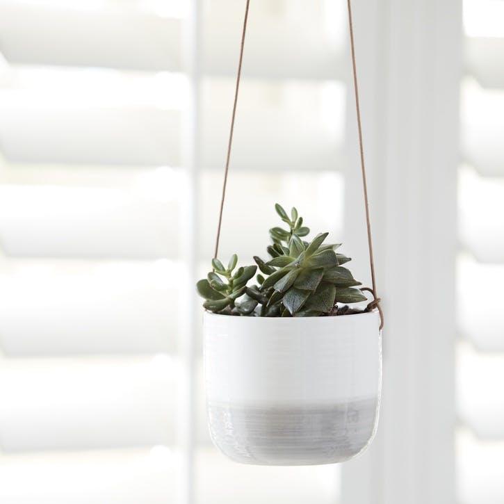 Indoor Hanging Pot, Ripple Design