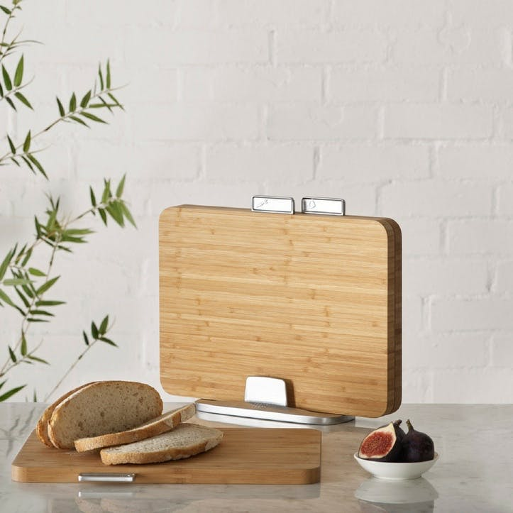 Index Chopping Board Set; Bamboo