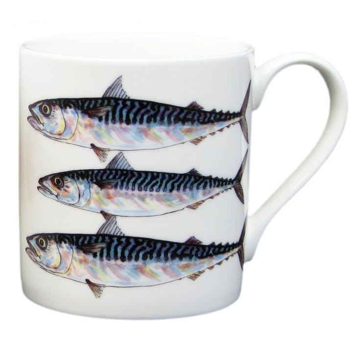 Mackerel & John Dory Large Mug - 9cm x 8cm