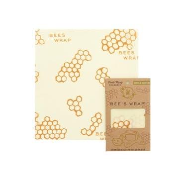 Bee's Wrap Print Food Wrap, Medium