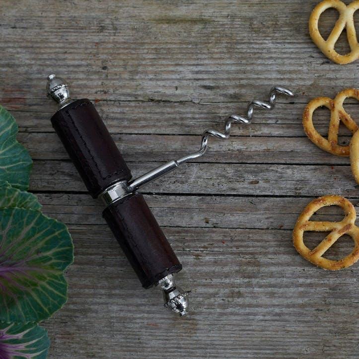 Leather Corkscrew