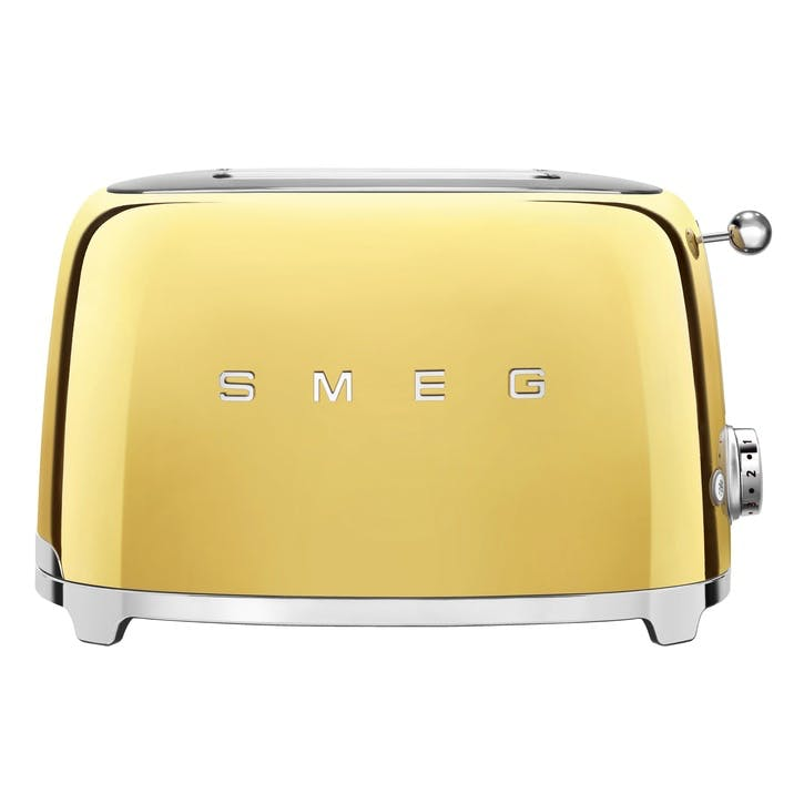 2 Slice Toaster, Gold