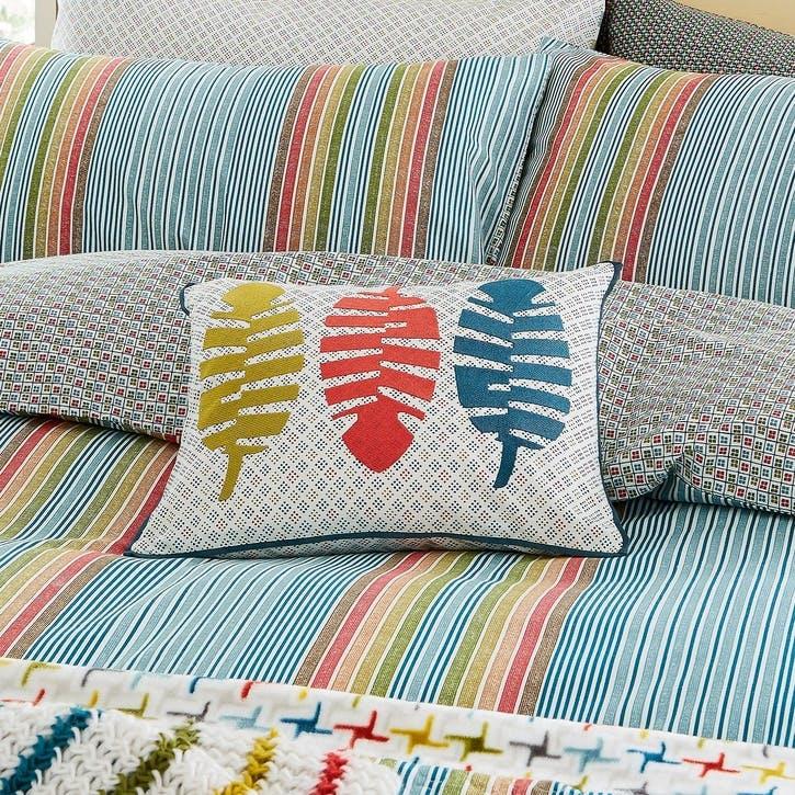 Macaw Breakfast Cushion