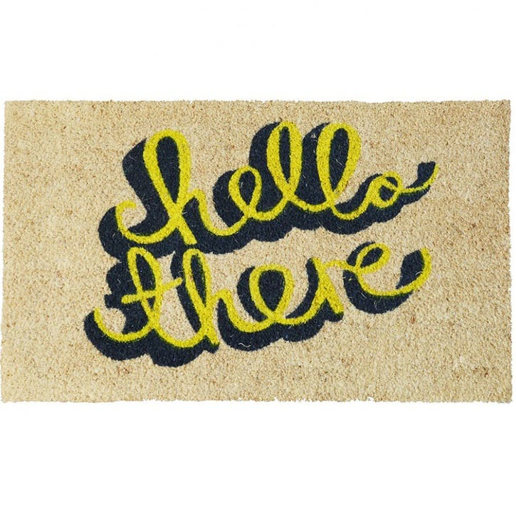 Hello There Door Mat, 75 x 45cm