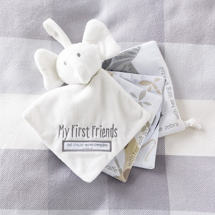 My First Friends Fabric Book