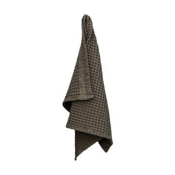 Waffle Hand Towel, L75 x W50cm, Clay