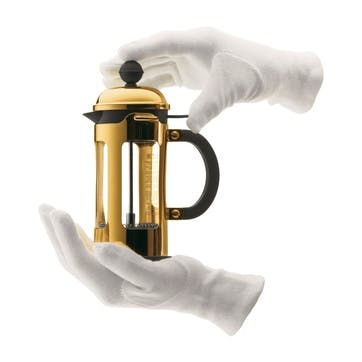 Chambord, 3 Cup Coffee Maker, 35cl, Gold