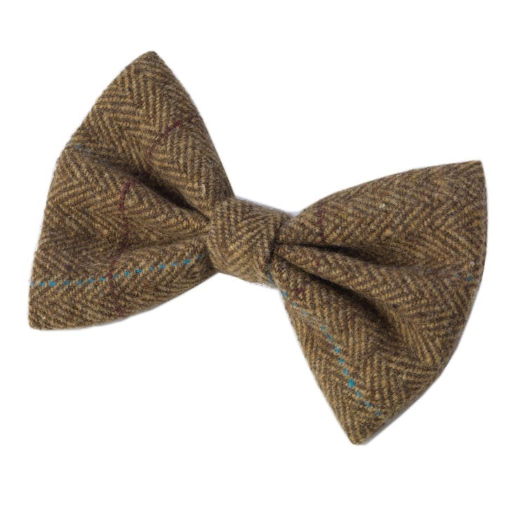 Tweed Bow Tie, Brown