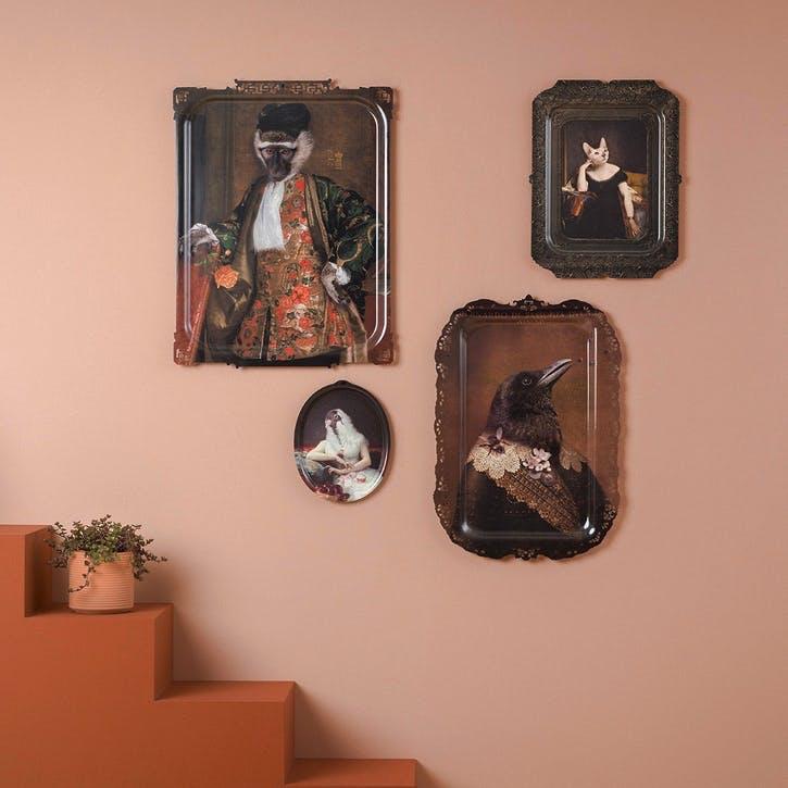 Galerie De Portraits Rectangular Tray, Bernardo