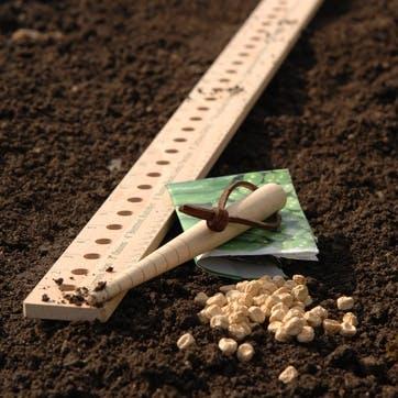 Seed & Plant Spacing Ruler