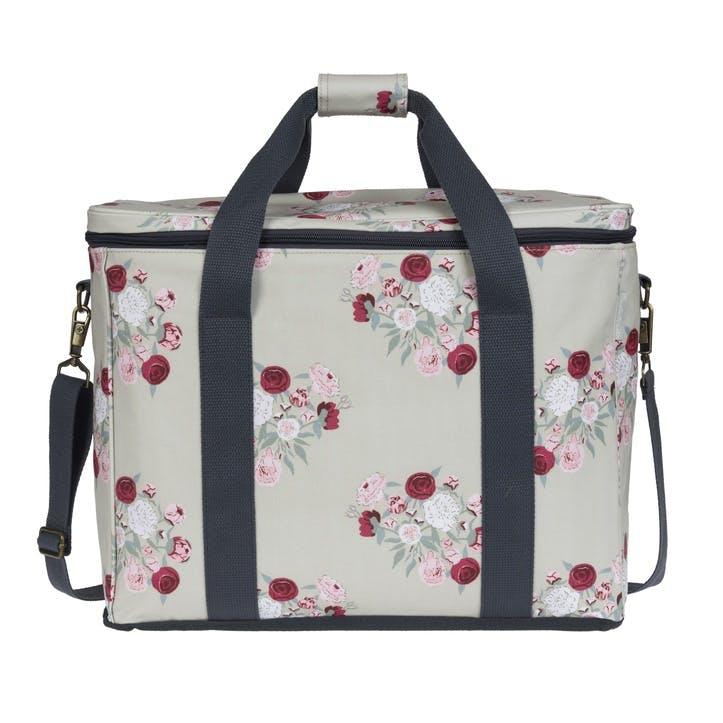 'Peony' Oilcloth Picnic Bag