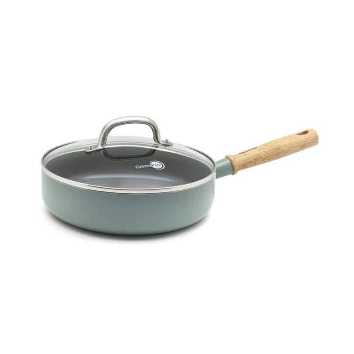 Mayflower Ceramic Non-Stick Sauté Pan with Lid - 24cm