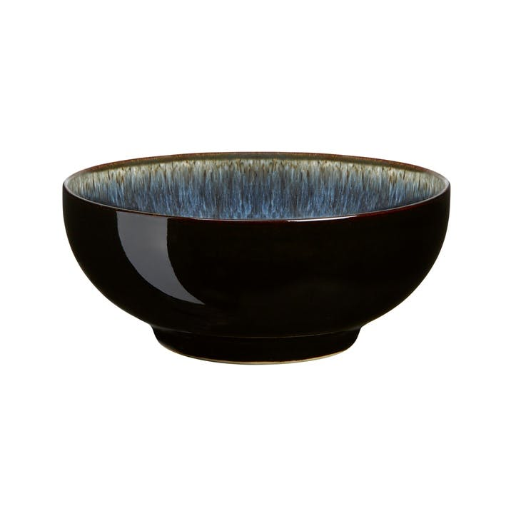 Halo Cereal Bowl, 16cm, Black/ Blue