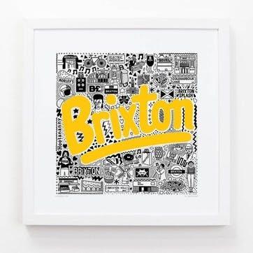 Hometown Brixton Print, 33cm