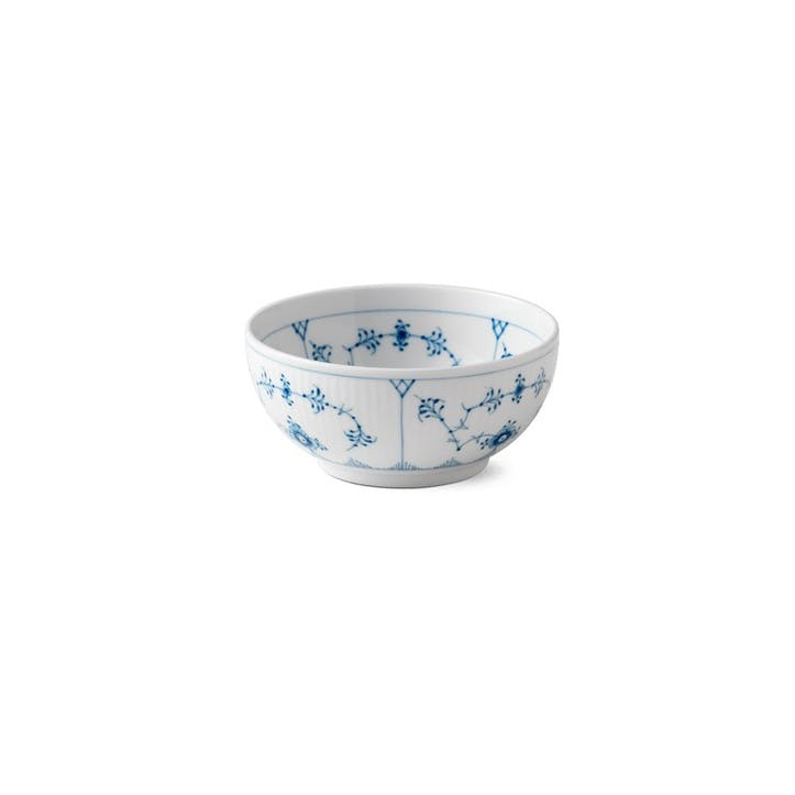 Blue Fluted Nibbles Bowl