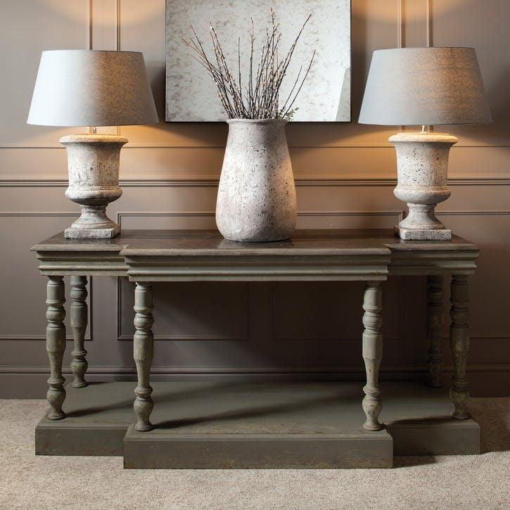 Birkdale Large Tapered Stone Effect Vase