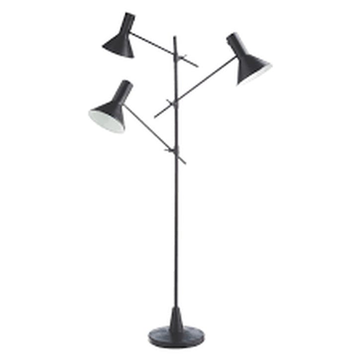 Nyx 3 Head Metal Floor Lamp