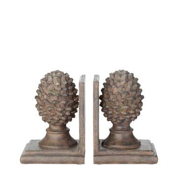 Pair of Pinus Bookends