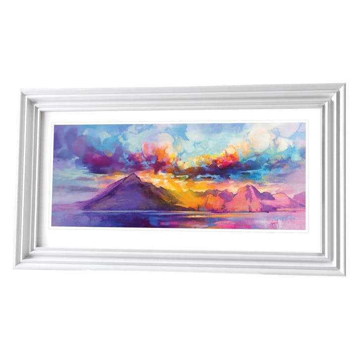 Scott Naismith Cuillins Ridge Framed Print, 61 x 110cm