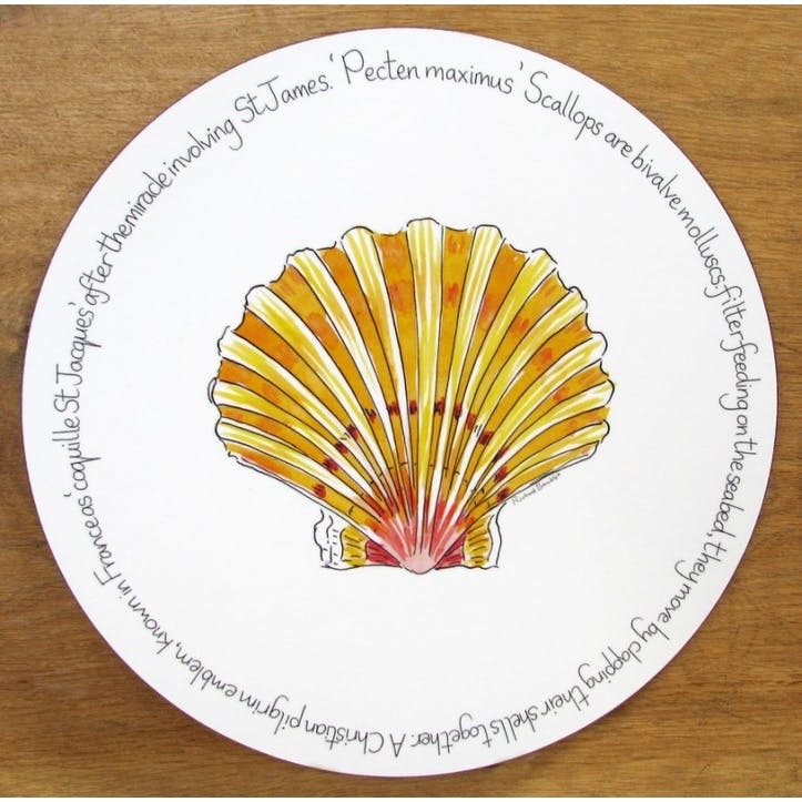 Scallop Tablemat - 28cm