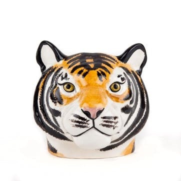 Tiger Face, Pair Of Egg Cups