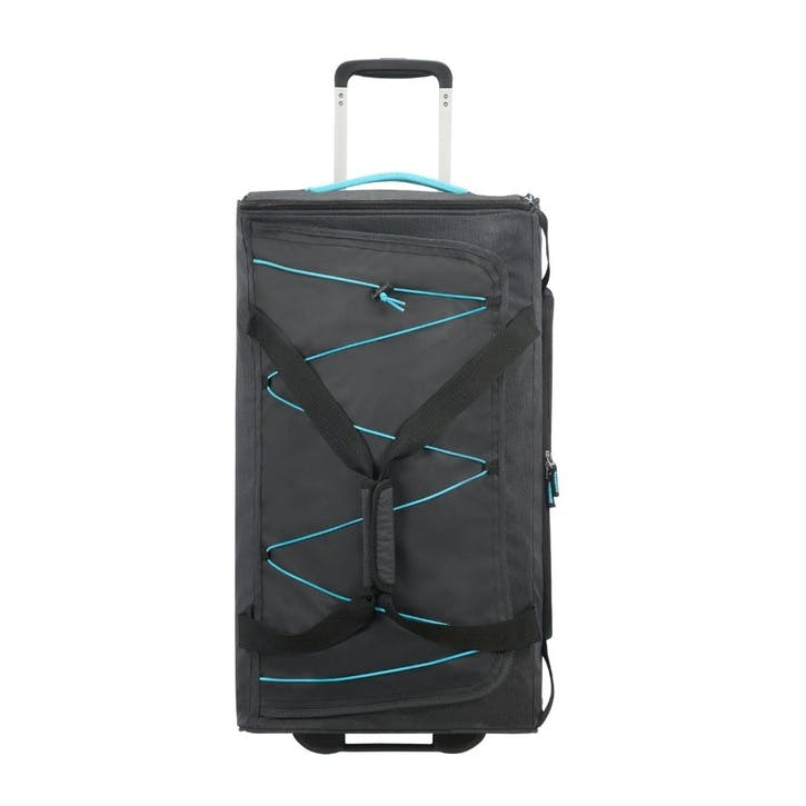 Road Quest Wheeled Duffle, 67cm, Graphite/Turquoise